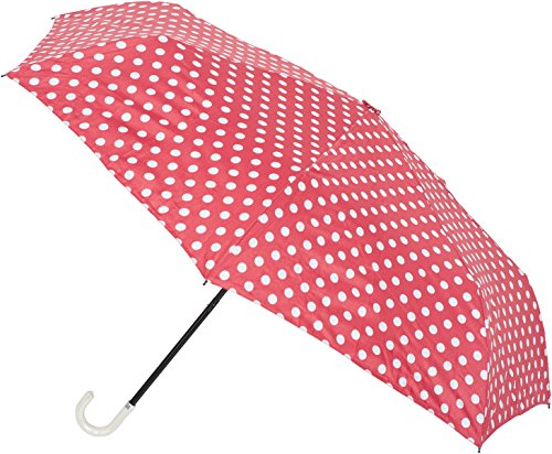 Unbekannt Cute Polka DOT Retro Umbrella Regenschirm Rockabilly