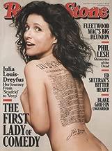Rolling Stone 2014 April 24 - Julia Louis Dreyfus. + 5 More Pages Inside Magazine