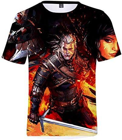 Unisex Camiseta para Hombre 3D Patrón Imprimir Manga Corta Camisetas