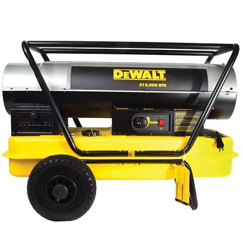 DeWalt F340700 DXH215HD Forced Air Kerosene Heater,Yellow