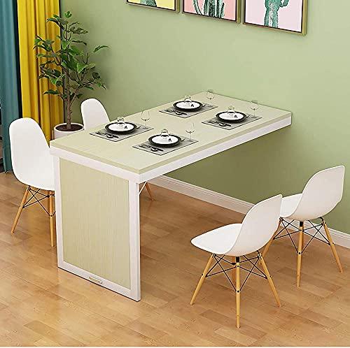 Home Mesa plegable moderna y cómoda para montar en la pared para cocina, dormitorio, estudio, hojas de gota flotantes escritorio de computadora oficina-A 35x24x30'-B_35x20x30'