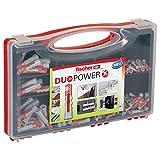 Fischer Redbox Duopower 280 Tasselli per Muro Pieno, Mattone Forato, Cartongesso e Gasbeton, 535973