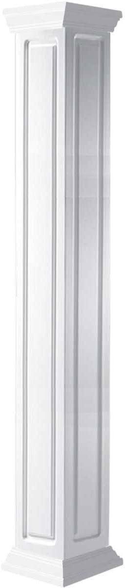 Ekena Gorgeous Millwork CC0812ENRCRCR Max 85% OFF White Column
