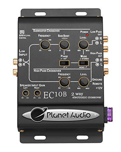 Planet Audio EC10B Crossover Elettronico A 2 Vie