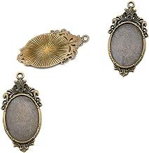 Bulk* SALE* 30 Pieces Bronze Cabochon Base 25mm Classic Style Cabochon Necklace Cameo Cabochon Jewelry Vintage Style Cabochon C13O-CS