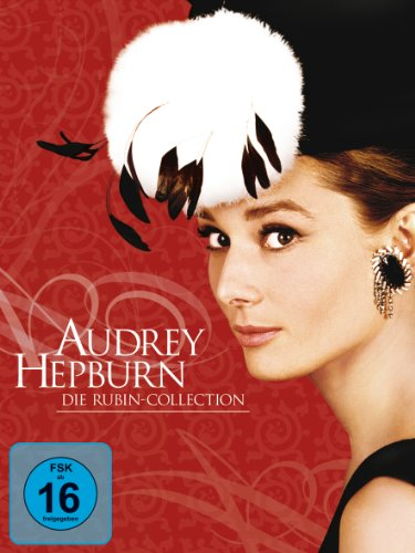 Audrey Hepburn: Die Rubin Collection (Ein Herz und eine Krone / Sabrina / Krieg und Frieden / Ein süßer Fratz / Frühstück bei T