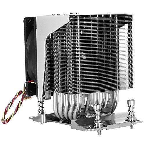 Ventilador de refrigeración de CPU, Velocidad de Giro de 3800 RPM Enfriador de CPU Disipación de Calor silenciosa y eficiente Bajo Nivel de Ruido para Oficina para el hogar