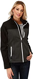 Women's Grey Contrast Softshell Jacket - 03-098-0780-7107 Gy