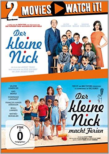 Der kleine Nick / Der kleine Nick macht Ferien [2 DVDs]