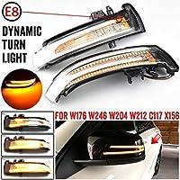 AL 対応車種: メルセデス ベンツ W204 W176 W212 CLA A B C E S GLA GLK CLS クラス ダイナミック LED ウインカー ホワイト AL-JJ-6790-T001