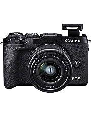 Canon EOS M6 Mark II - 32,5 MP Mirrorless Camera - Body Kit met EF-M 15-45 mm f/3.5-5.6 IS STM en Elektronische Zoeker EVF-DC2