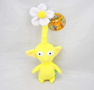D-Khaleesi Pikmin Yellow Flower Figure Animal Toys Plush Doll 5 inches Cute Xmas Gift