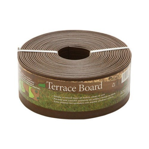 Lowest Prices! Master Mark Terrace Board Landscape Edging 4 X 40 ' Brown