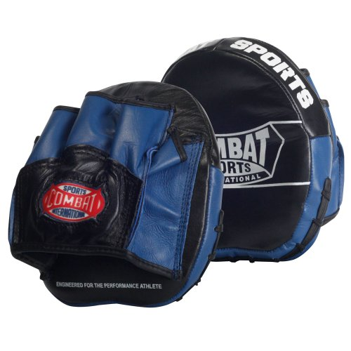 Combat Sports Boxing MMA Micro Punch Mitts (Pair) , Black