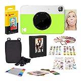 Kodak Printomatic Cámara de impresión instantánea + Zink Conjuntos de Adhesivos Coloridos y Decorativos para proyectos de Papel fotográfico instantáneo + Set Regalo