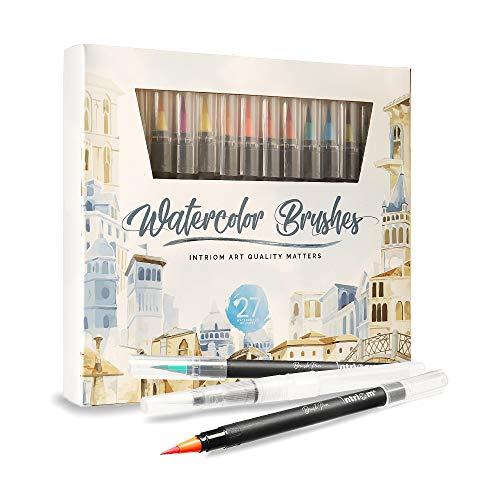 Watercolor Brush Pens Assorted S...