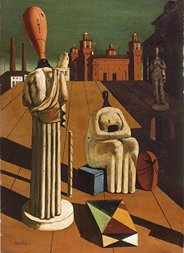Clementoni 39246.9 - Puzzle Modern Art, De Chirico: Die beunruhigenden Musen, 1000 Teile