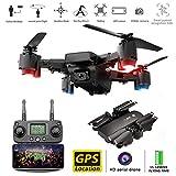 MROSW S30 5G WiFi RC Mini Drone avec Caméra 1080P RC Pliable Quadrocopter Hélicoptère Avion Télécommande Toy FPV Selfie Drone