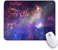 KAPANOUマウスパッド 宇宙星望遠鏡銀河宇宙科学爆発銀河抽象的な方法 ゲーミング オフィス おしゃれ 防水 耐久性が良い 滑り止めゴム底 ゲーミングなど適用 マウス 用ノートブックコンピュータマウスマット