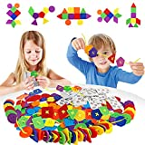 HISTOYE Large Button Puzzle Lacing Toys for Toddlers DIY Craft...