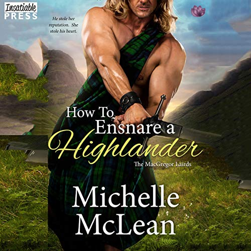 How to Ensnare a Highlander audiobook cover art