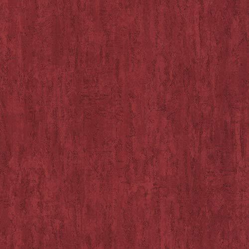 Vliestapete Mustertapete Tapeten mit Muster Tapeten Wohnzimmer 347374 34737-4 A.S. Création Einzelblatt | Rot | Muster (21 x 29,7 cm)