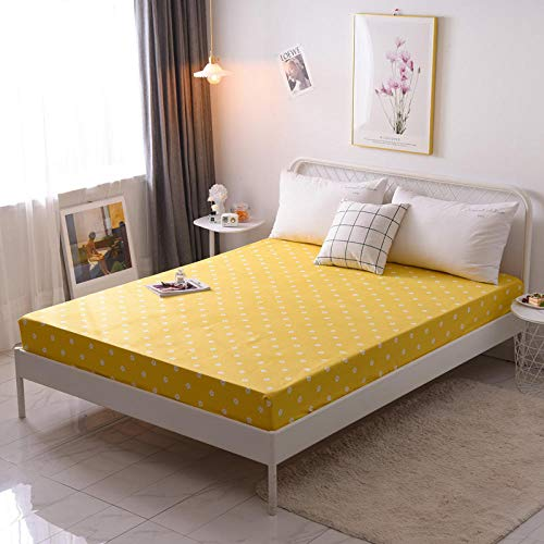 GTWOZNB Microfibre Flat Sheet - Luxurious No-Iron Bed Sheet is Breathable, Single piece of bed sheet dust cover-9_150*200cm
