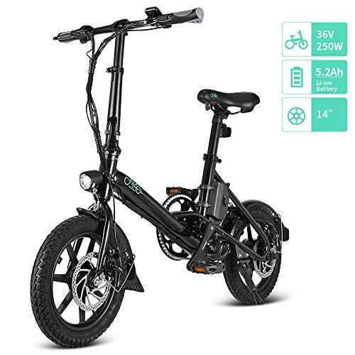 FIIDO D3/D3S Bicicleta Eléctrica Plegable