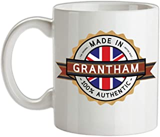 Made In GRANTHAM Mug - Tea - Coffee - Town - City - Place - Home