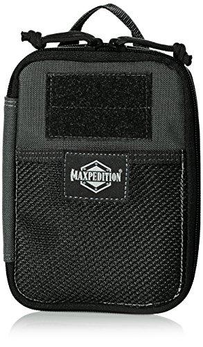 Maxpedition Fatty - Bolso organizador, diseño de lobo, color gris, talla única