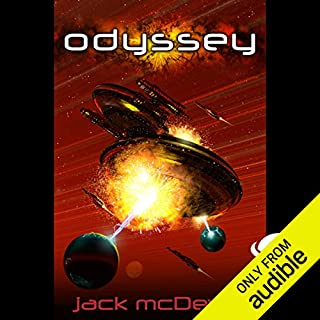 Odyssey     Academy series              By:                                                                                                                                 Jack McDevitt                               Narrated by:                                                                                                                                 Khristine Hvam,                                                                                        Jack McDevitt                      Length: 14 hrs and 21 mins     16 ratings     Overall 3.7