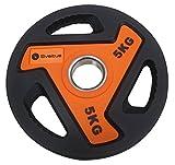 Sveltus 3811Disco para Barra Unisex, Naranja/Negro, 5kg