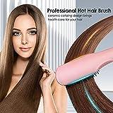 Zoom IMG-1 spazzola lisciante per capelli piastra