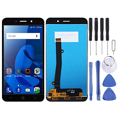 Nueva pantalla LCD y conjunto completo de digitalizador for ZTE Blade A602 (negro) CourageL (Color : Black)