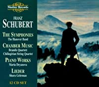 Symphonies / Chamber Music / Piano Works by FRANZ SCHUBERT (1997-11-18)