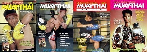 Muay Thai Master Saekson - 4 DVD Set by Rising Sun Productions by Y. Ishimoto