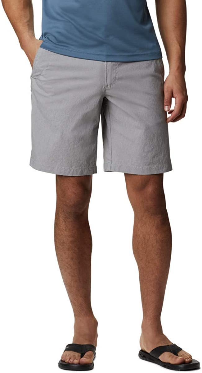 Columbia Men's Outdoor Elements Shorts Wickin Chambray 40% OFF Cheap Sale Outstanding Moisture