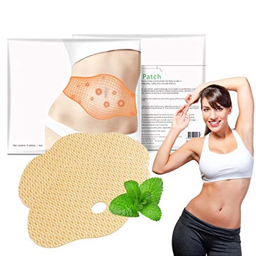 10Pcs Slim Patch, Belly Fat Burner, Tighten Slimming Wonder Patch, All Natural Ultimate Body Wrap Weight Loss Fat Burner and Cellulite Removal