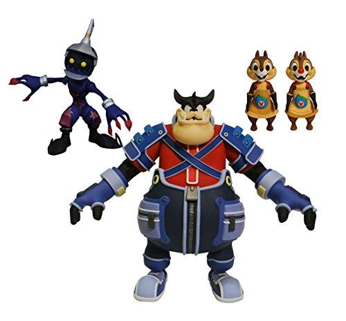 Kingdom Hearts- Select Series 2 Pete Chip Dale Soldier Figura de acción, Multicolor (Diamond Toys SEP178689)