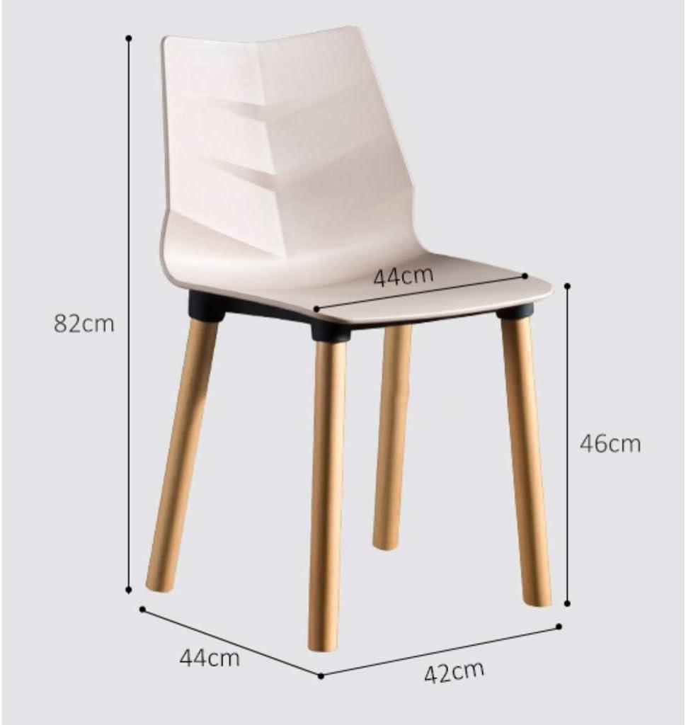 LF Chaise de Salle, Chaise de Bureau Simple, créative Dossier, Chaise Loisirs, Maison Adulte Chaise de Salle Simple (Color : Green) Green