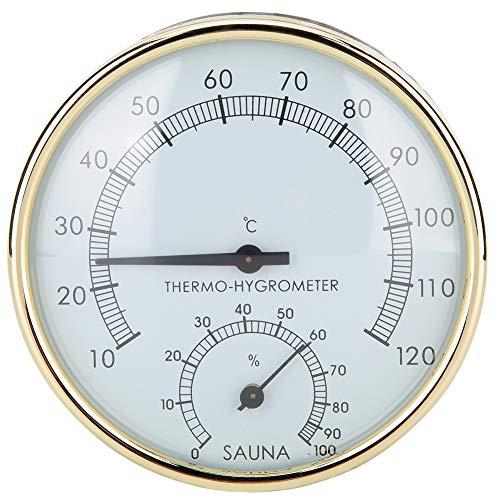 Sauna Digitale Thermometer Hygrometer Gouden Rand Binnenthermometer Hygrometer Vochtigheid Temperatuur Meter Hot Tubs…
