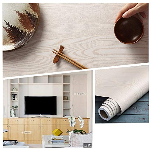 HDS Flexible Kunstfertigkeit ist leichter und überzeugender Möbel Renovierung Aufkleber Alte Kleiderschränke Original-Holztür Tabelle Wasserdicht Holzmaserung Aufkleber Holzimitation dekorative Tapete