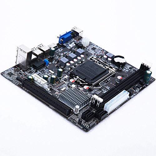 GUOCAO Lga 1155 Práctica placa base estable para Intel H61 Socket Ddr3 Memoria Accesorios de computadora Herramientas de la placa de control