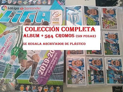 Colección Completa Album + 564 cromos Liga Este 2019 2020 Panini
