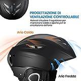 Zoom IMG-2 topelek casco da sci con