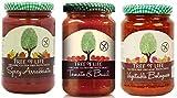Tree of Life Salsa de pasta orgánica y sin gluten 3 sabores mezclados (paquete de 6)