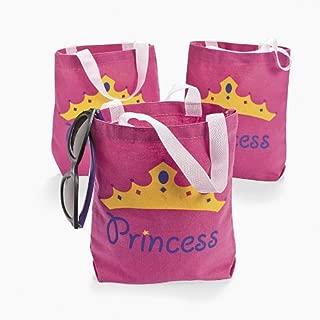 Princess Canvas Tote Bags (1 dz)