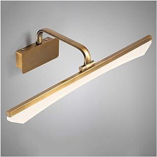 BMJ&C Bathroom Mirror LED Picture Light Led Makeup Lamp Retro Wall Lamp Acrylic Mirror Light (Color : White light-100cm)