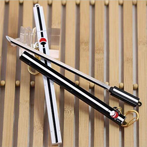 2 Piezas Naruto Uchiha Sasuke Espada Anime Espada de Madera...