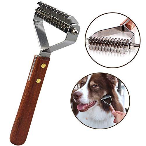 AIDIYA Professional Pet Dematting Kamm Fellpflege Abisolierwerkzeug für Hunde und Katzen (8.8cm)